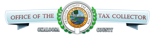 Okaloosa county tax collector logo crest