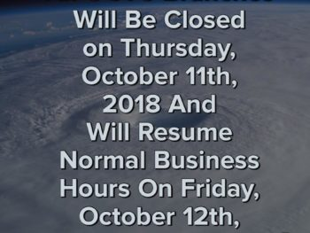 Office Closures Due To Hurricane Michael
