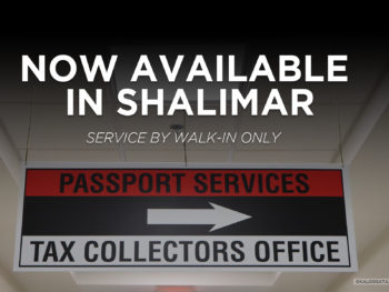 Passport Services Now Available In Shalimar!